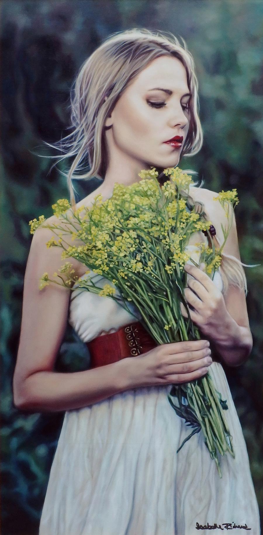 Isabelle Richard Art Artwork Shades Of Green